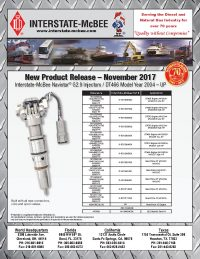 Interstate-McBee New Products November 2017