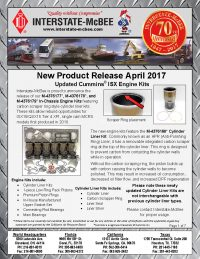 Interstate-McBee New Products April 2017