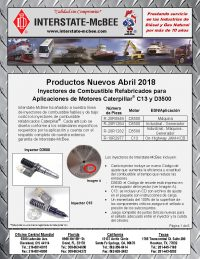 Interstate-McBee New Products April 2018