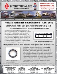 Interstate-McBee New Products April 2016