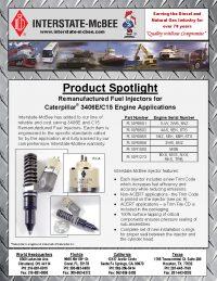 Caterpillar 3406E/C15 Engine Applications