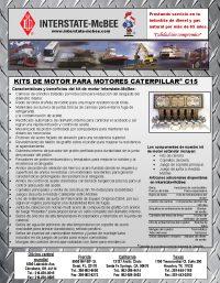 Caterpillar C15 Spanish
