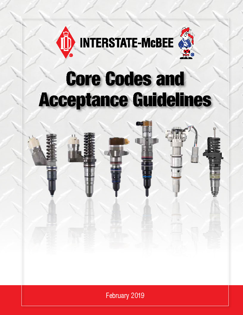 Interstate-McBee Core Codes Acceptance Guidelines