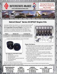 Detroit Diesel Series 60 EPA07 Engine Kits