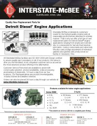 Detroit Diesel Engine Applications
