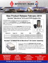 Interstate-McBee New Products February 2019