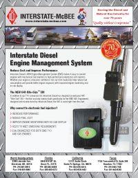 Interstate-McBee Diesel Engine Management System