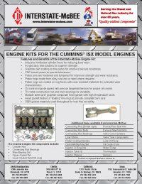 Cummins ISX Model Engine Kits