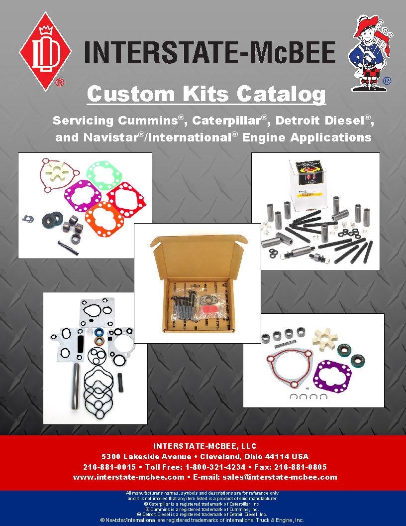 Interstate-McBee Custom Kits Catalog