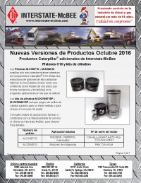 Interstate-McBee New Products October 2016