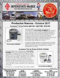 Interstate-McBee New Products October 2017