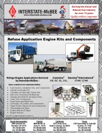 Refuse Application Engine Kits and Components