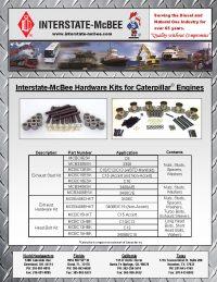 Interstate-McBee Hardware Kits for Caterpillar Engines
