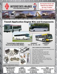 Transit Application Engine Kits and Components