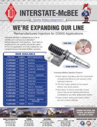 Caterpillar® D3500 Remanufactured Injectors