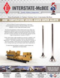 Nickel-Based Super Alloy Valves