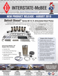 New Product Release - August 2019