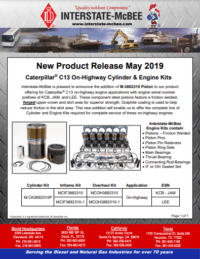 New Product Release - May 2019