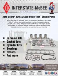 John Deere® 4045 & 6068 Replacement Parts