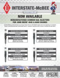 John Deere® Reman Common Rail Injectors